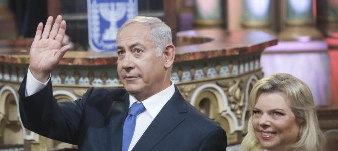 Istorinis susitikimas su Izraelio Valstybės Premjeru J.E. p. Benyaminu Netanyahu Vilniaus choralinėje sinagogoje