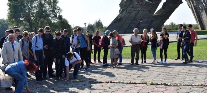 Lietuvos žydų genocido dienos minėjimas Kauno IX forte