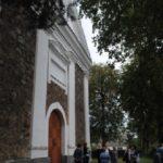 Prie meilės simbolio - katalikų bažnyčios Žeimelyje