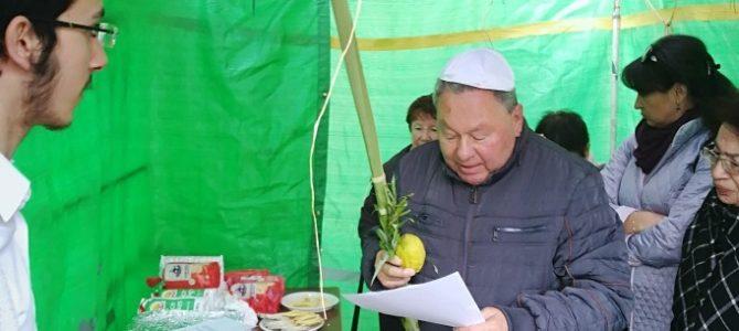 Šiaulių apskrities žydų bendruomenė linksmai atšventė Sukkot šventę