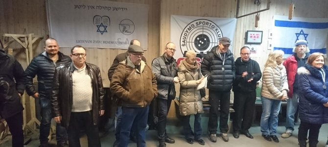 Makabi Shooting Competition Dedicated to Lithuanian Volunteer Soldier Volf Kagan