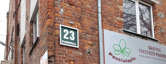 Street Named in Honor of Frankel Family in Šiauliai