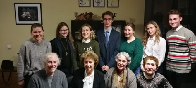Kaunas Jewish Community Meets Students