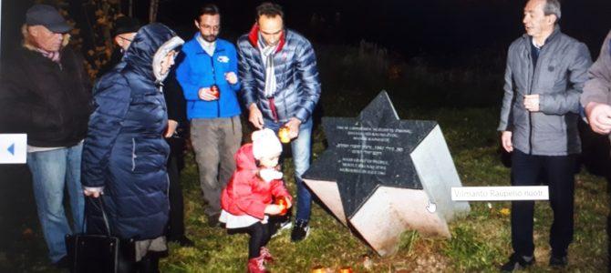Kauno VII-ajame forte pagerbti žuvusieji