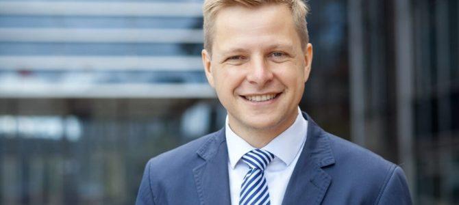 Vilnius Mayor Remigijus Šimašius Sends Happy Hanukkah Wishes