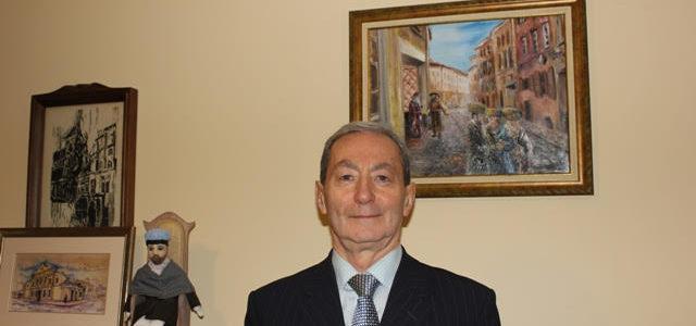 Kaunas Jewish Community Chairman Gercas Žakas Recognized