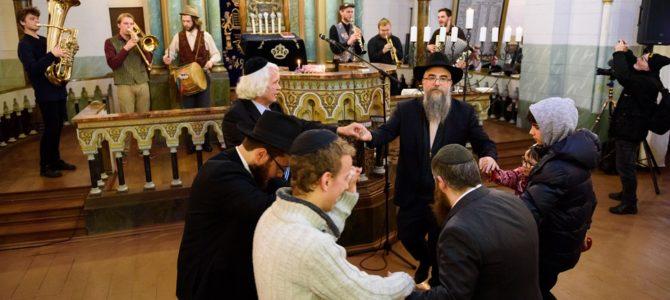 Happy Hanukkah Celebration at the Choral Synagogue in Vilnius