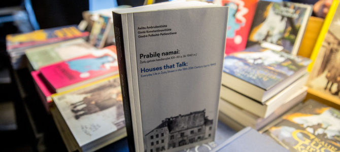 New Book about Jewish Street in Vilnius
