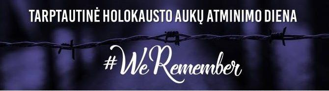 Lietuvos žydų bendruomenė kviečia prisijungti prie Pasaulio žydų kongreso (WJC) kampanijos, skirtos Holokausto aukų atminimui.