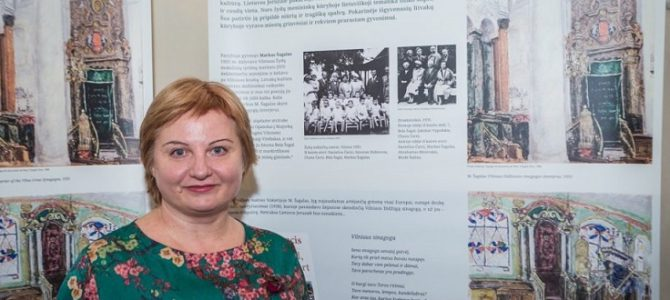 Vilma Gradinskaitė's Exhibit Lithuania in Litvak Art