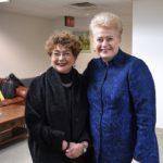 F. Kukliansky ir D.Grybauskaitė