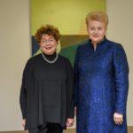 F.Kukliansky ir D.Grybauskaitė 2
