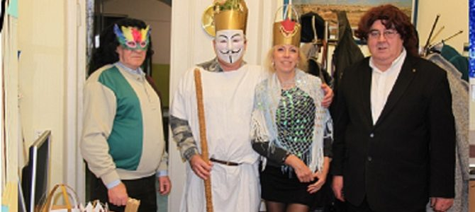 Purim at the Panevėžys Jewish Community