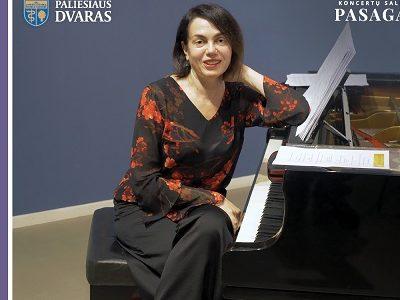 Kvietimas į pianistės iš Izraelio Irenos Friedland koncertą šį penktadienį Paliesiaus dvare