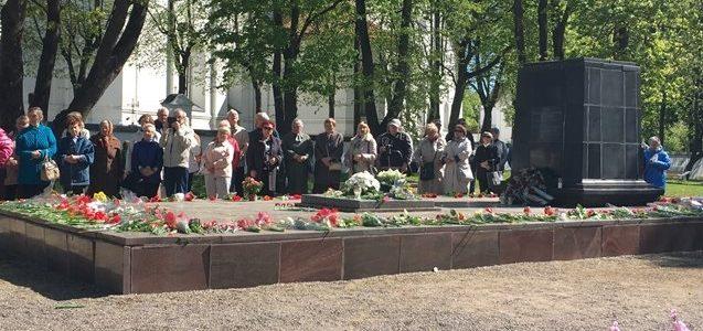 Šiauliai Regional Jewish Community Commemorates Fallen Soldiers