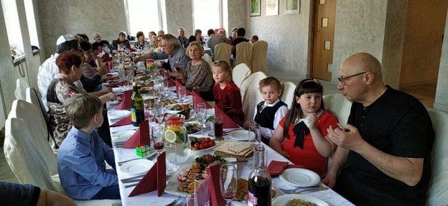 Праздник Песах в Шяуляйской еврейской общине