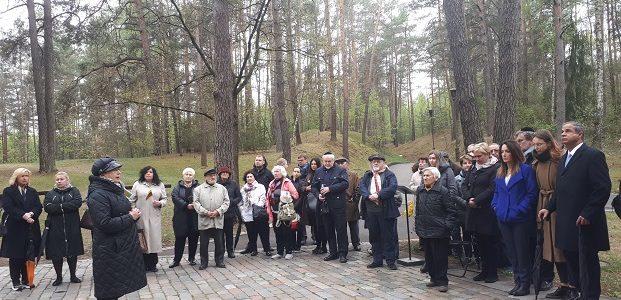 День Катастрофы и героизма евреев: в Панеряй почтили память жертв Холокоста