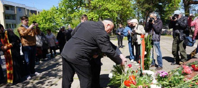 Panevėžio žydai švenčia Pergales dieną
