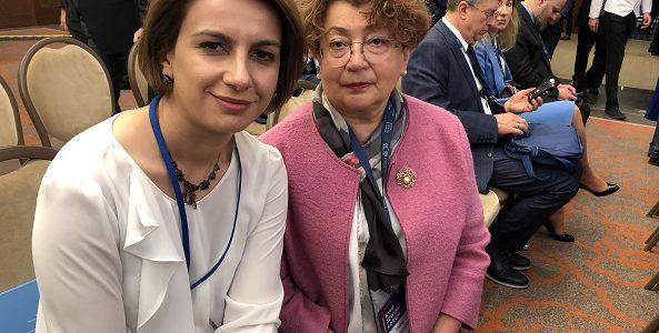 LŽB pirmininkė Faina Kukliansky dalyvauja tarptautiniame lyderių susitikime Kijeve