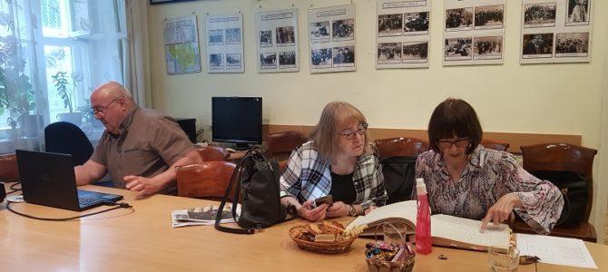 Vasarą daug svečių apsilanko Panevėžio žydų bendruomenėje