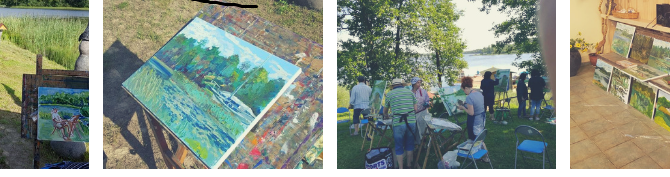 Outdoor Painting Workshop