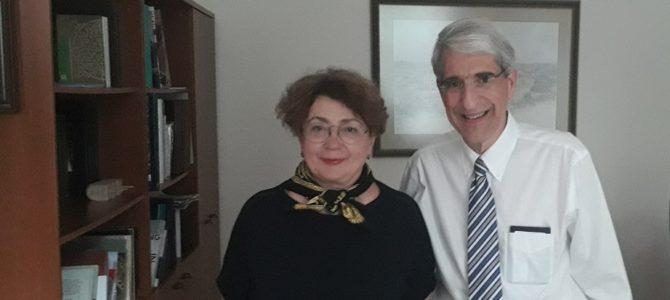 Еврейскую общину Литвы посетил президент Йельского университета П. Саловей