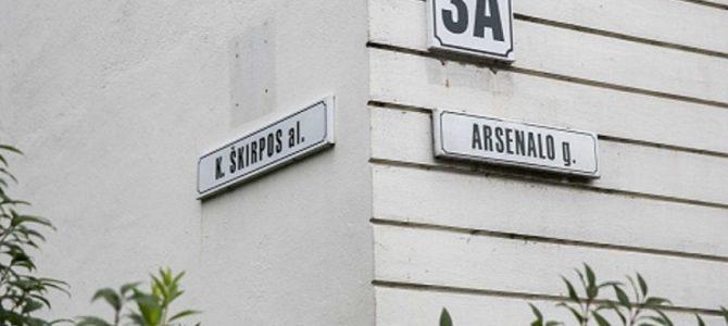 Vilniuje imamasi K.Škirpos alėjos pervadinimo: siūlomas Trispalvės vardas