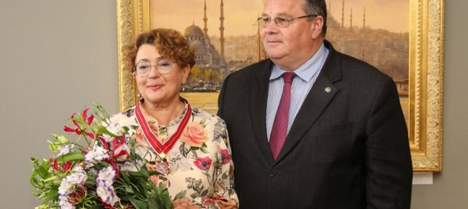 LJC Chairwoman Faina Kukliansky Awarded Star of Lithuanian Diplomacy