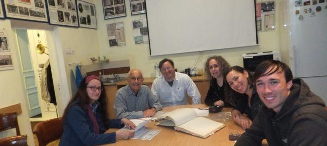 Grandson of Famous Rabbi Dovid Shapiro Visits Panevėžys