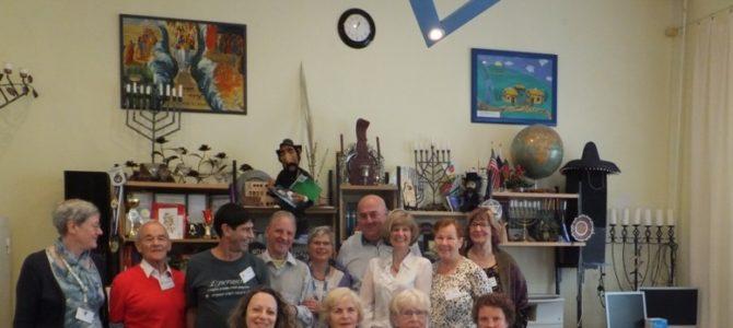 Еврейскую общину Паневежиса посетили эсперантисты разных стран