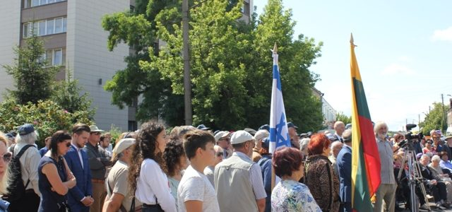 В Каунасе состоялось памятное мероприятие, посвященное 75-летию ликвидации Каунасского гетто