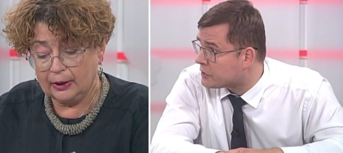 LJC Chairwoman Debates Ultra-Nationalist MP on Lithuanian TV