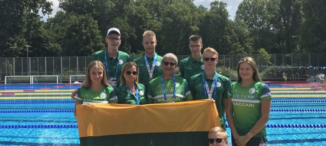 Most Successful European Maccabi Games Ever for Lithuanian Makabi Club