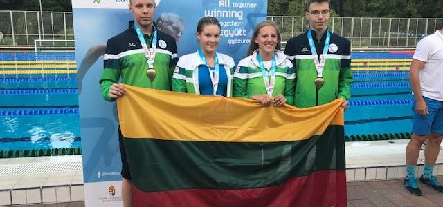 Lithuanian Olympic Committee Congratulates Lithuanian Makabi on Wins at European Maccabi Games