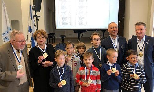 Elitinis Šachmatų, šaškių klubas Rositsan ir Maccabi švenčia 30-metį