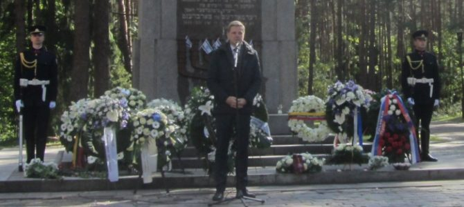 Lithuania's Jewish Victims of Genocide Remembered in Ponar