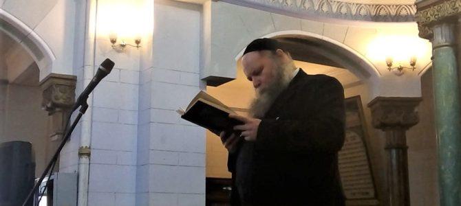 Vilniaus sinagogoje buvo skaitomi nužudytų Holokausto aukų vardai