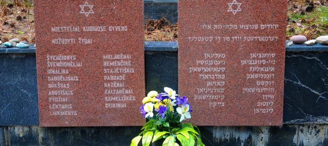Holocaust Commemoration in Švenčionys on October 6