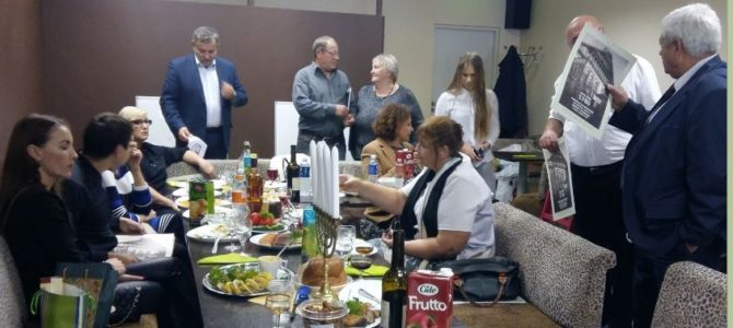 Rosh Hashanah at the Panevėžys Jewish Community