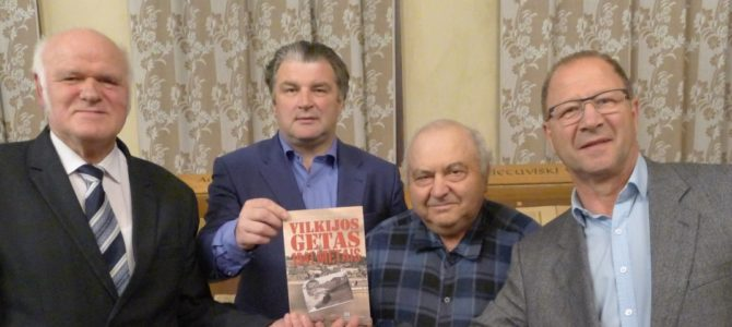 Launch of Book about Vilkija Ghetto in Kaunas