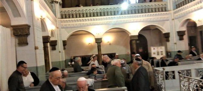 Vilniaus Choralinėje sinagogoje Lietuvos žydai pasitiko vieną svarbiausių švenčių