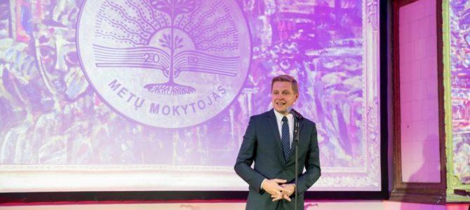 Meras apdovanojo geriausius Vilniaus metų mokytojus
