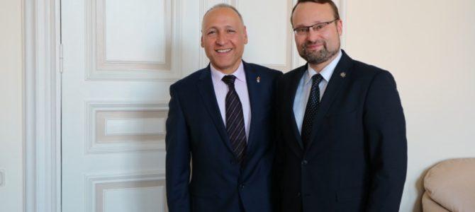 Kultūros ministro susitikime su Izraelio ambasadoriumi – dėmesys 2020 metams