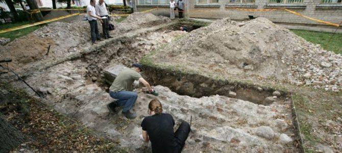 Vilniaus politikai leido griauti darželį virš Didžiosios sinagogos liekanų