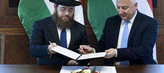 Vengrija pasirašė ypatingą susitarimą su vietos žydų ortodoksais