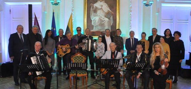 Padėkos koncertas gelbėtojams su Kauno žydų bendruomene