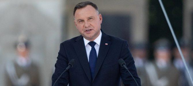 """Lenkijos prezidentas A. Duda: """"Tiesa, kuri negali mirti"""""""