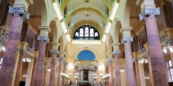 После реставрации открыли древнюю синагогу Александрии
