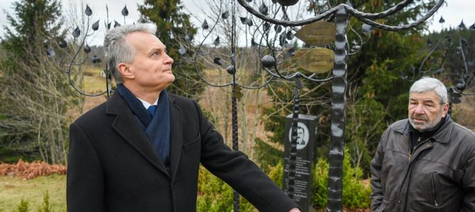 Lithuanian President Talks about What He Thinks about the Holocaust
