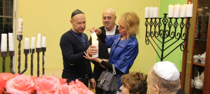 Ханука 2019 в еврейской общине Паневежиса